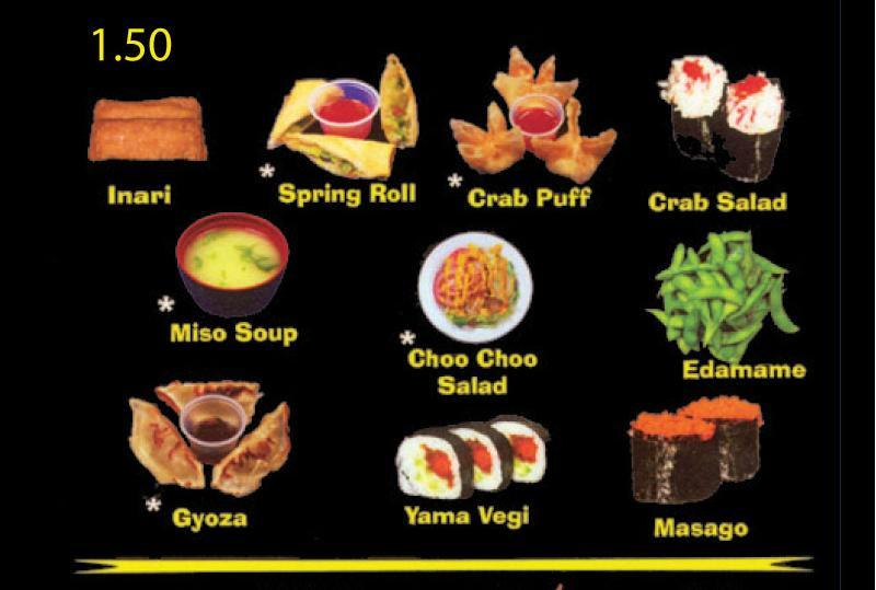 Sushi Choo Choo Home